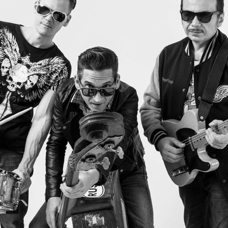 Aleksey Fetisov\'s Rock&Roll Trio (RUS)